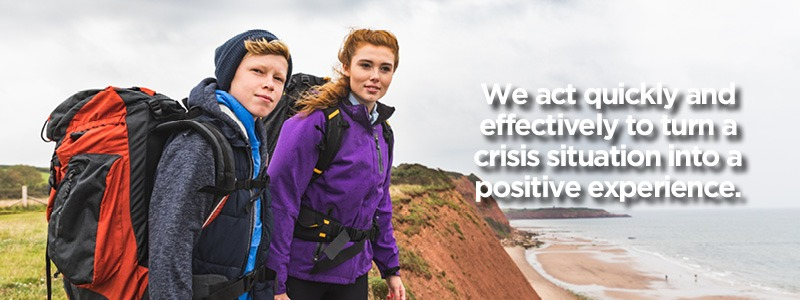 Crisis Services - We act quickly and effectively to turn a crisis situation into a positive experience.